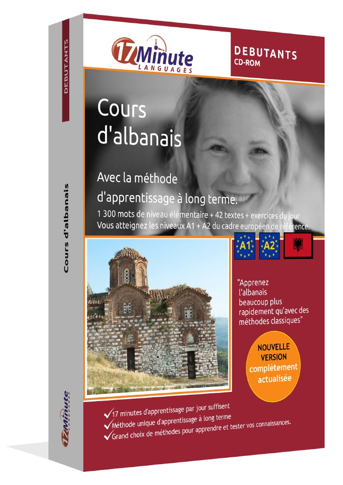 apprendre l'albanais