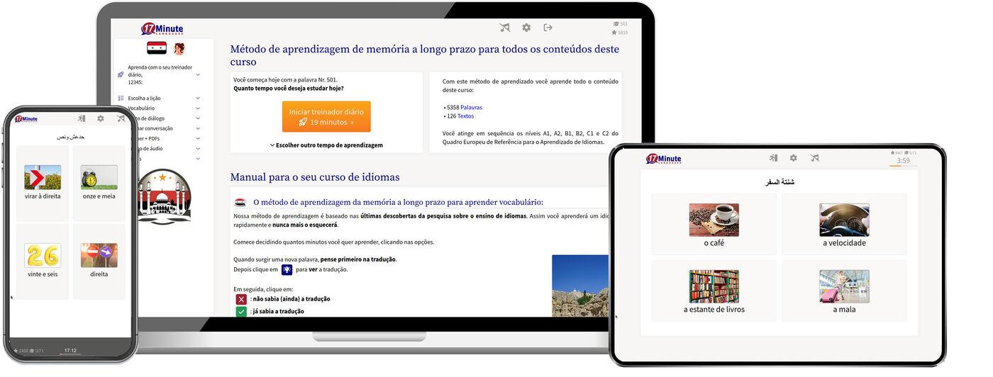 aprenda árabe sírio