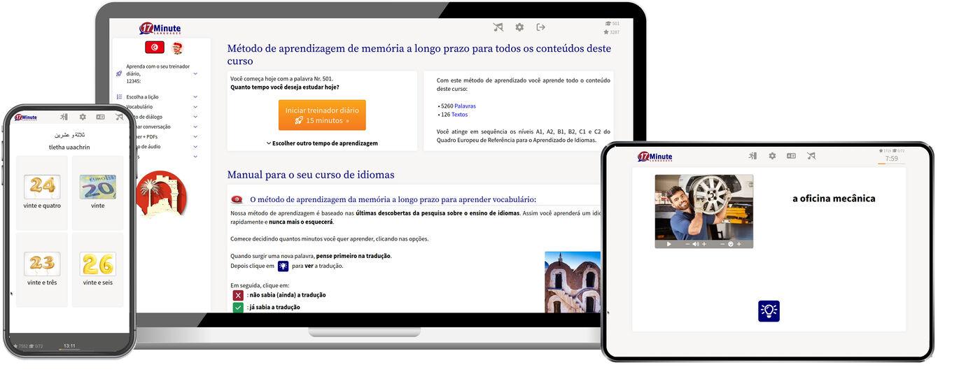 aprenda árabe tunisiano