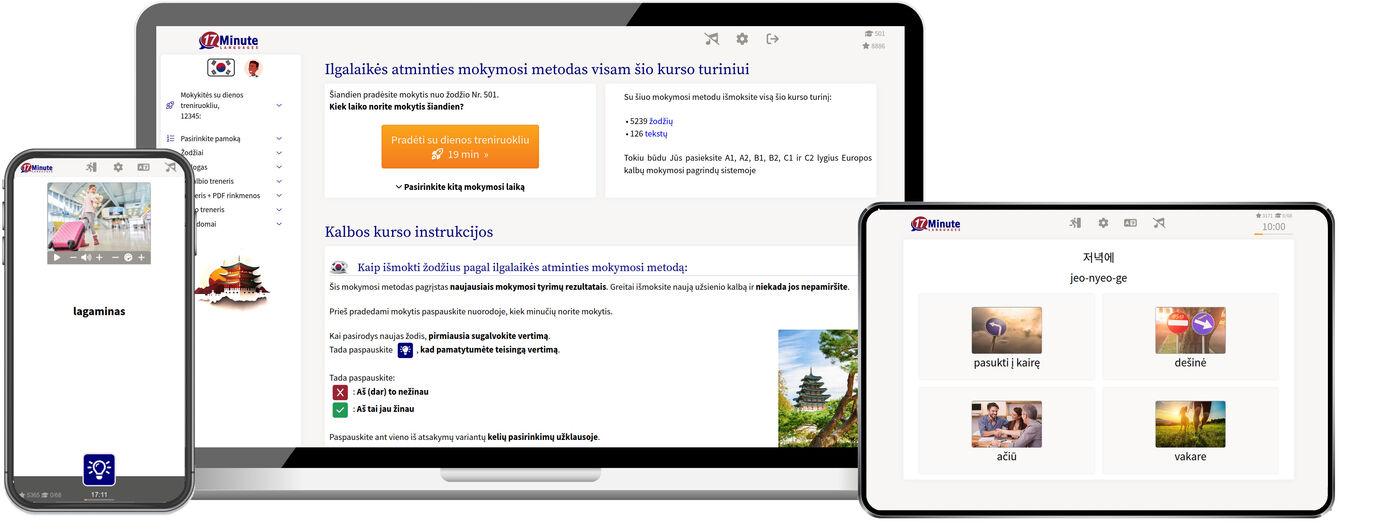 mokytis korėjiečių