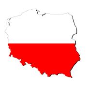 Mapa de Polônia