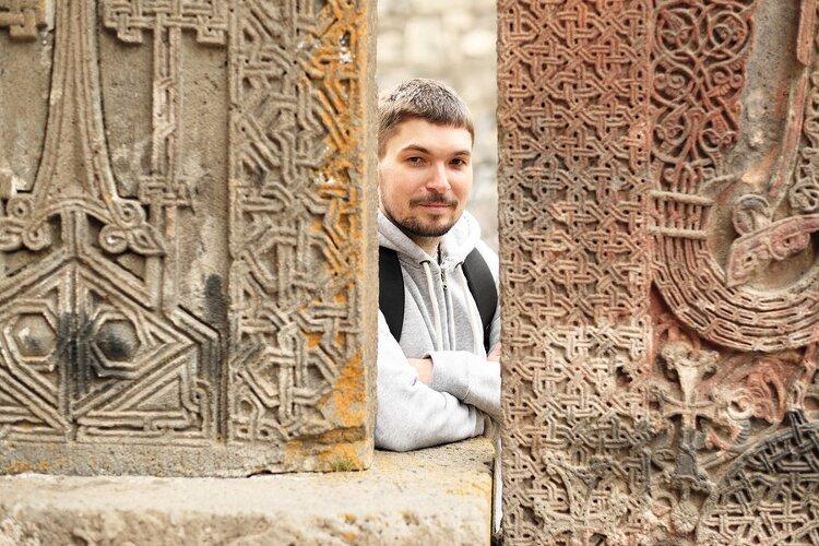 l'alfabeto dell'armeno orientale