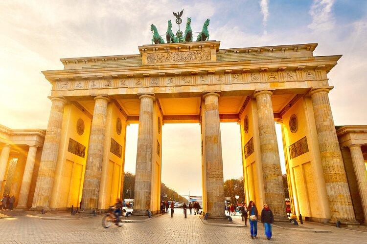 caminho para uma universidade alemã