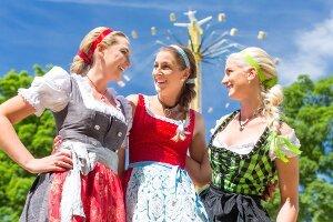 Podstawy bawarskiego na Oktoberfest