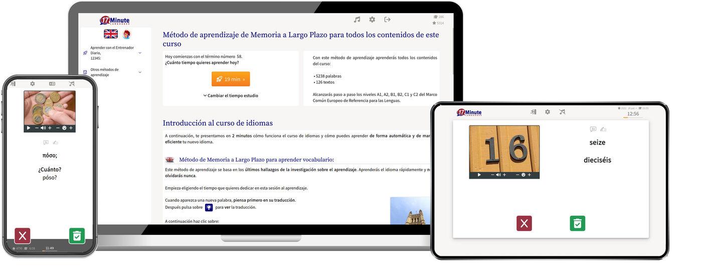 aprender idiomas con 17 Minute Languages