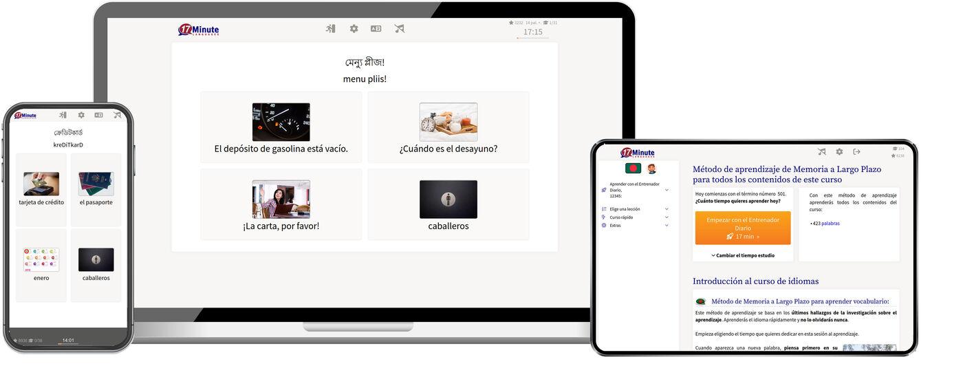 Aprende bengalí mucho más rápido