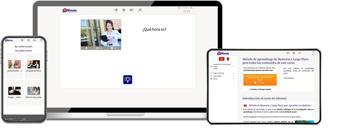 Aprende kirguís mucho más rápido