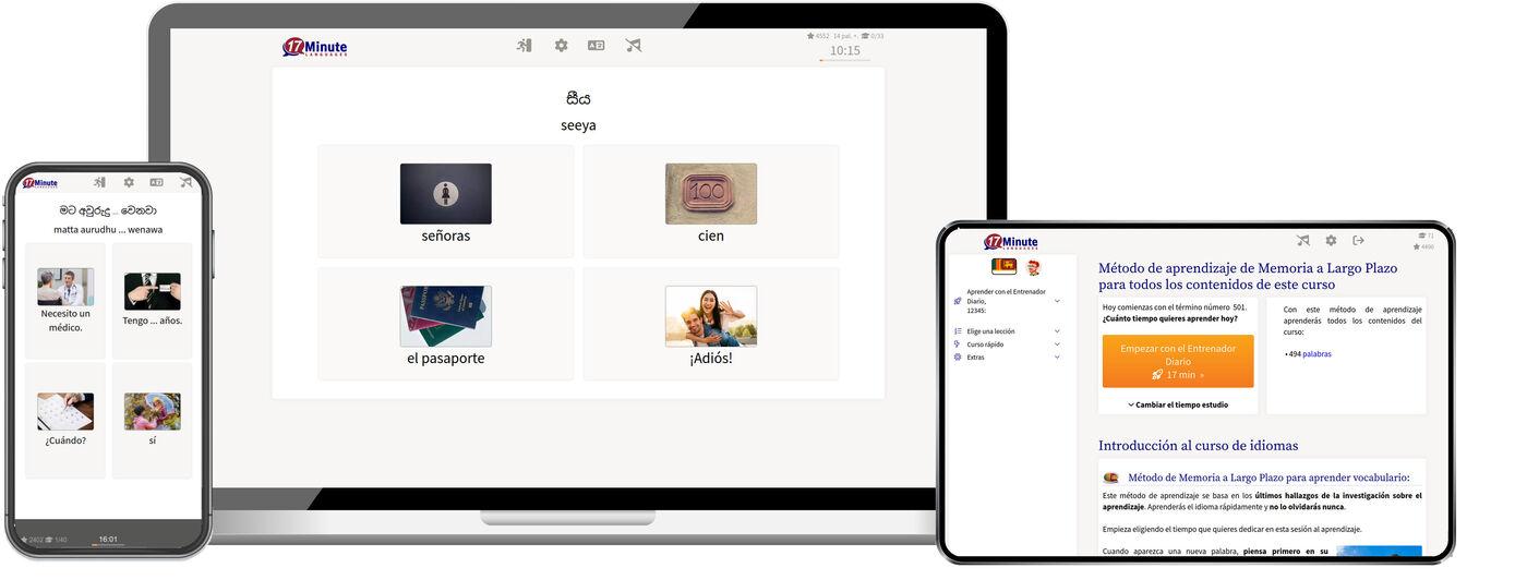 Aprende cingalés mucho más rápido