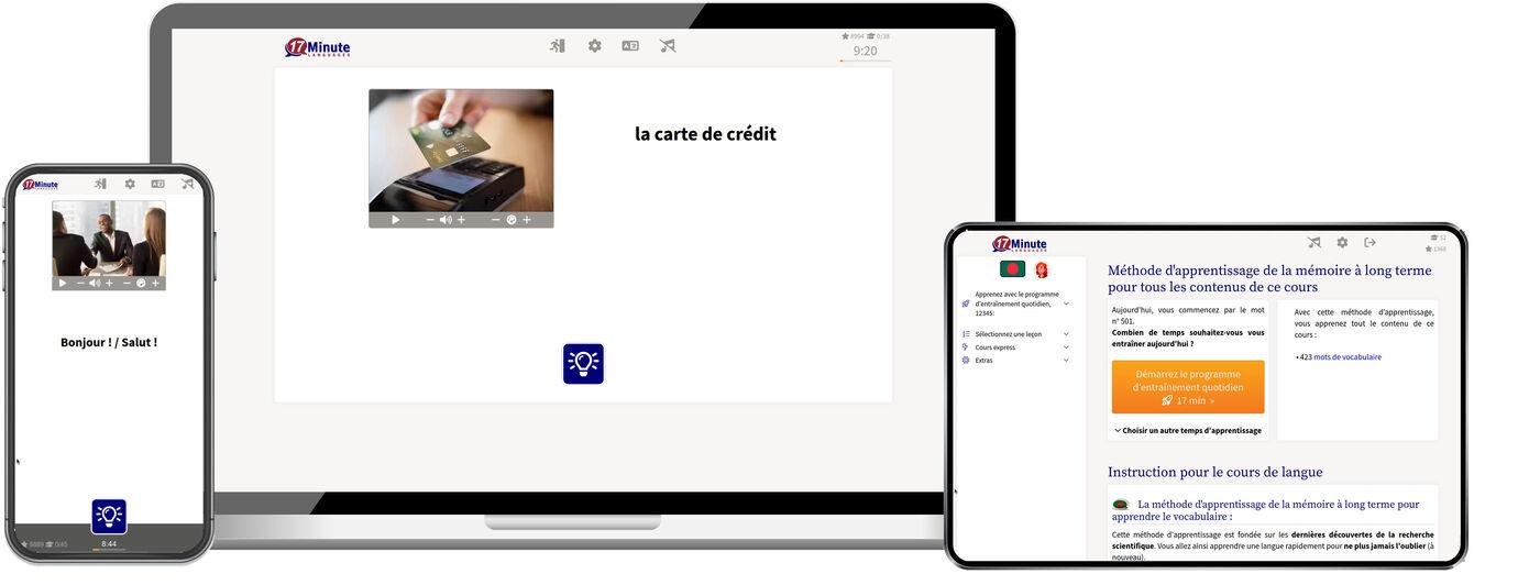 Apprenez le bengali plus rapidement