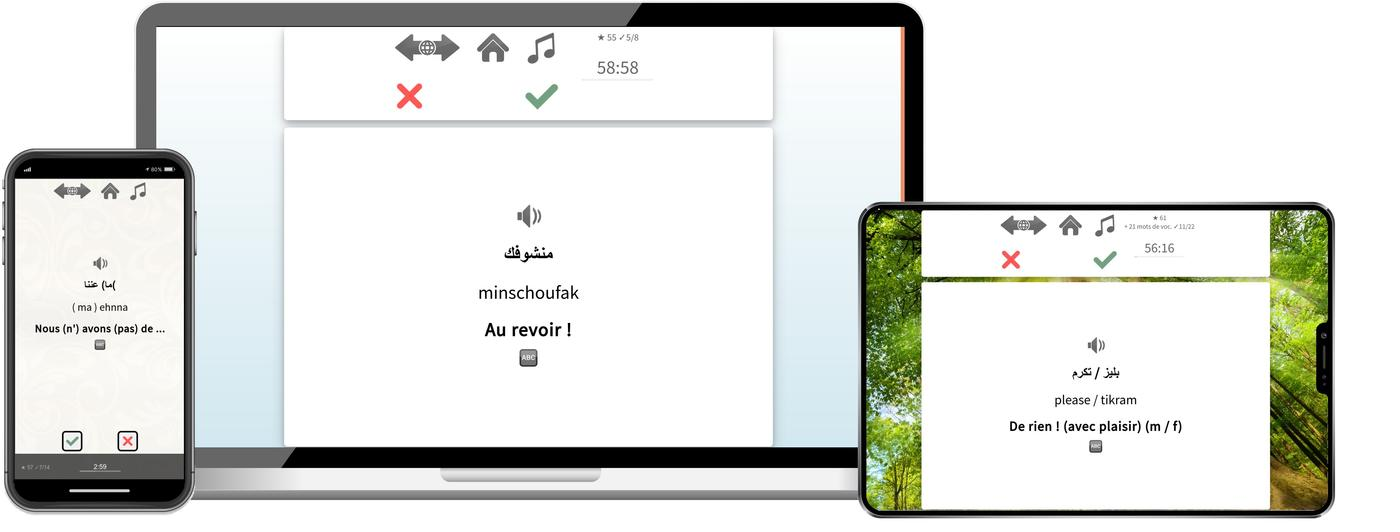 Apprenez le libanais plus rapidement