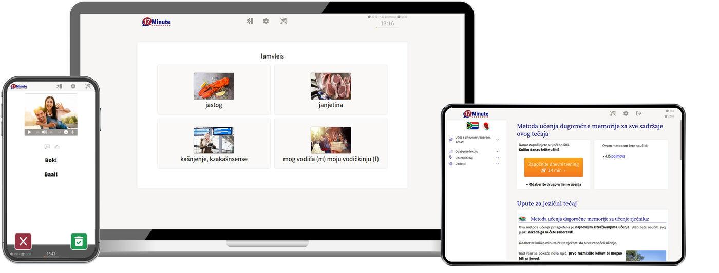 Učenje afrikanskog jezika online