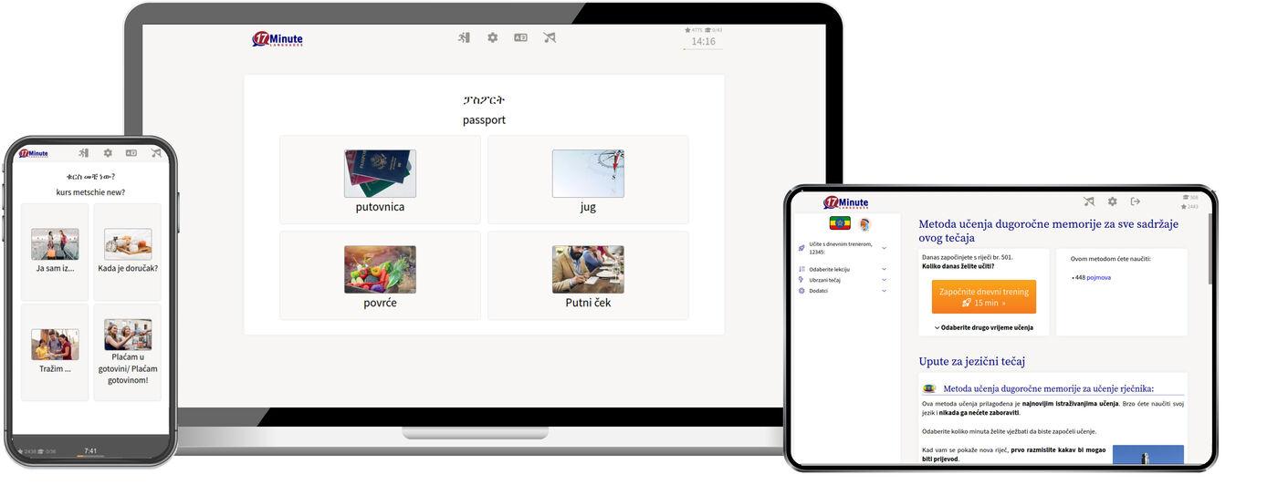 Učenje amharskog jezika online