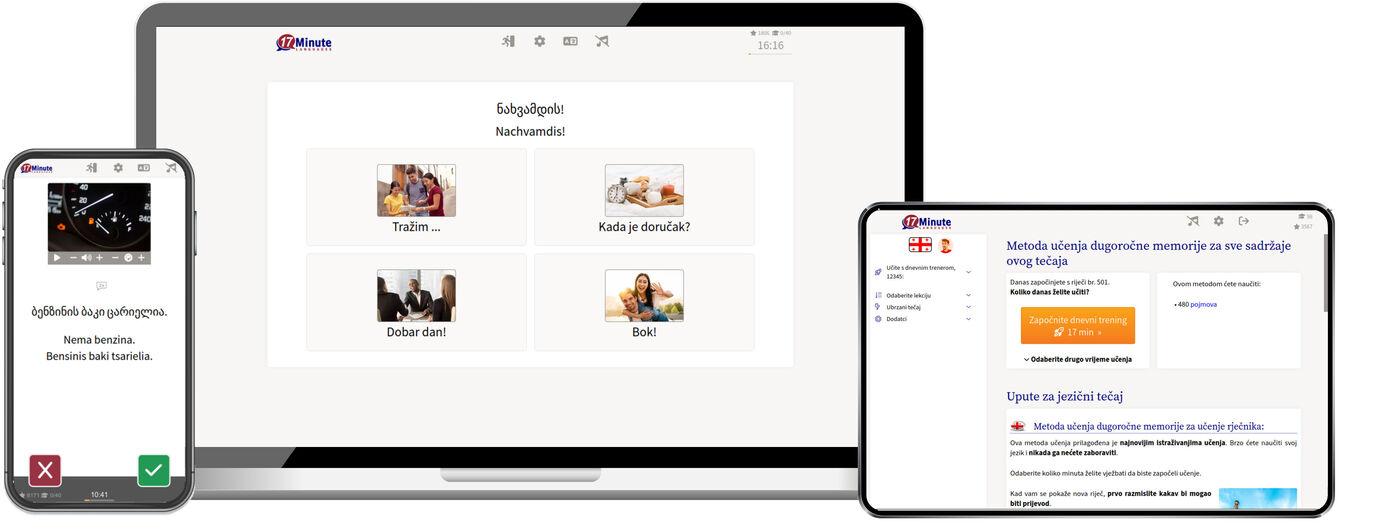Učenje gruzijskog jezika online