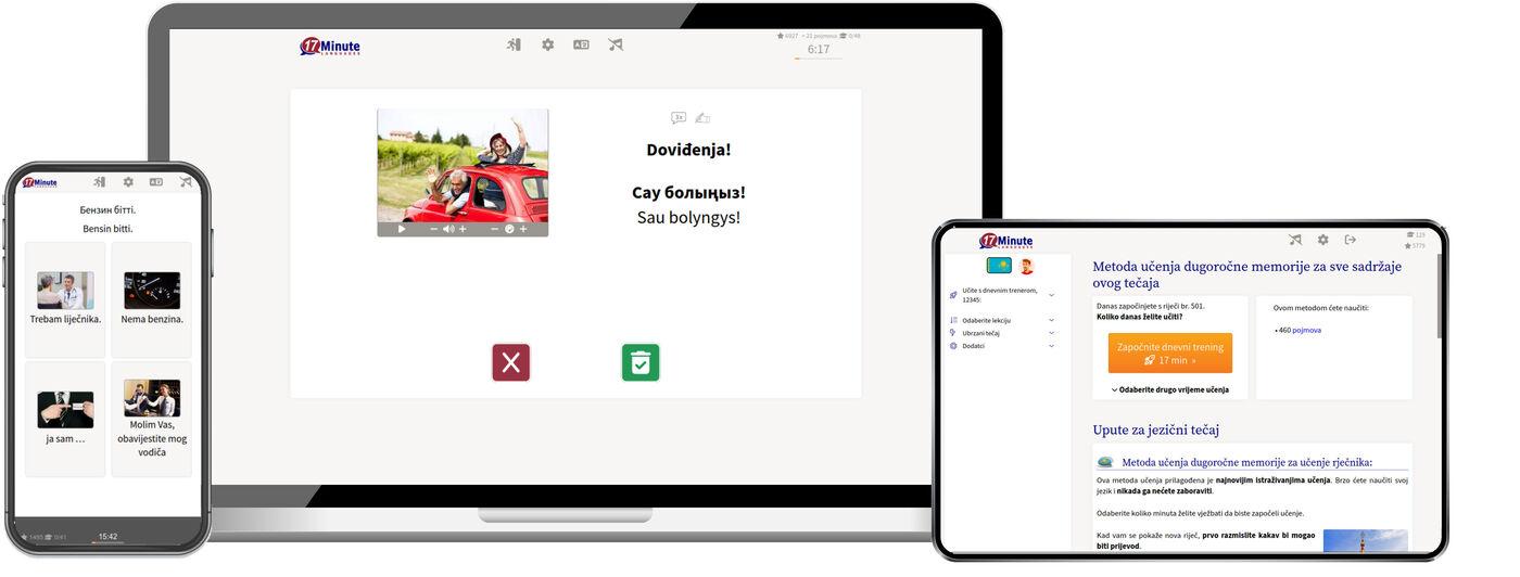 Učenje kazaškog jezika online