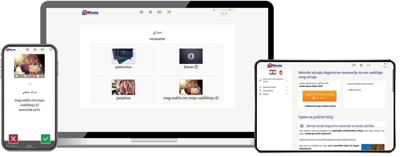 Učenje libanonskog jezika online