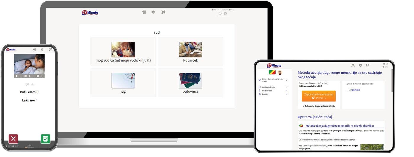 Učenje lingale jezika online