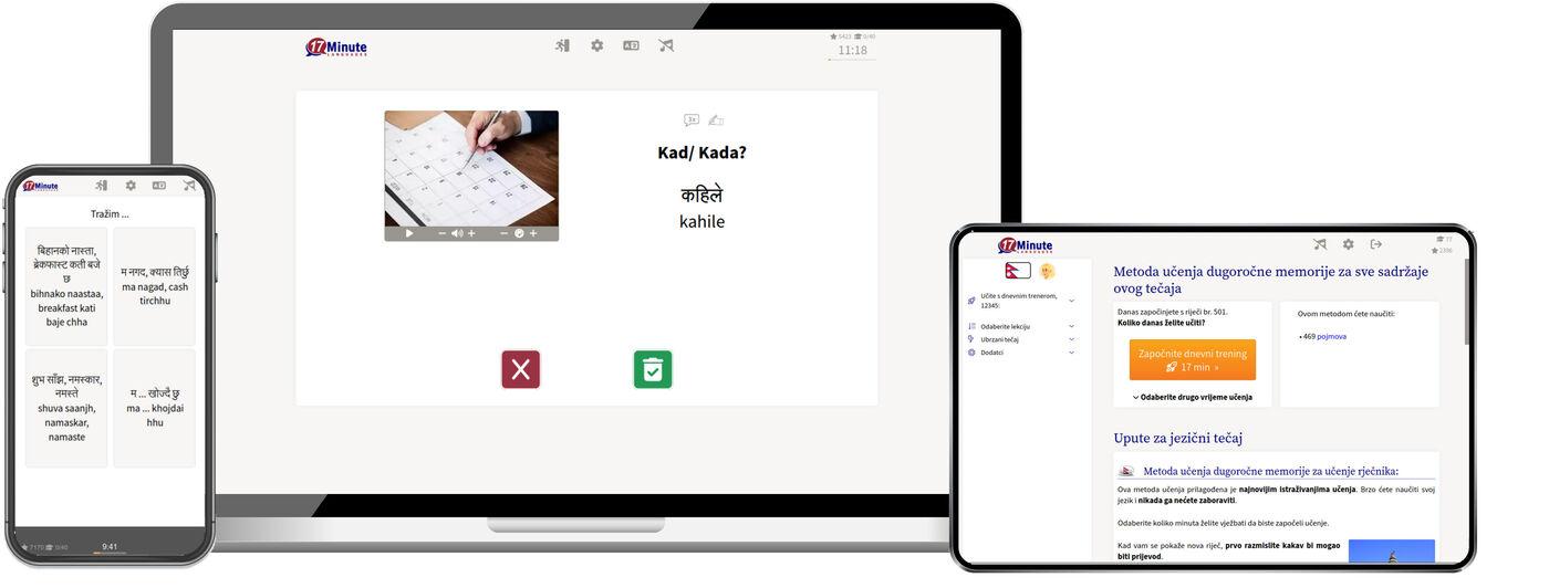 Učenje nepalskog jezika online