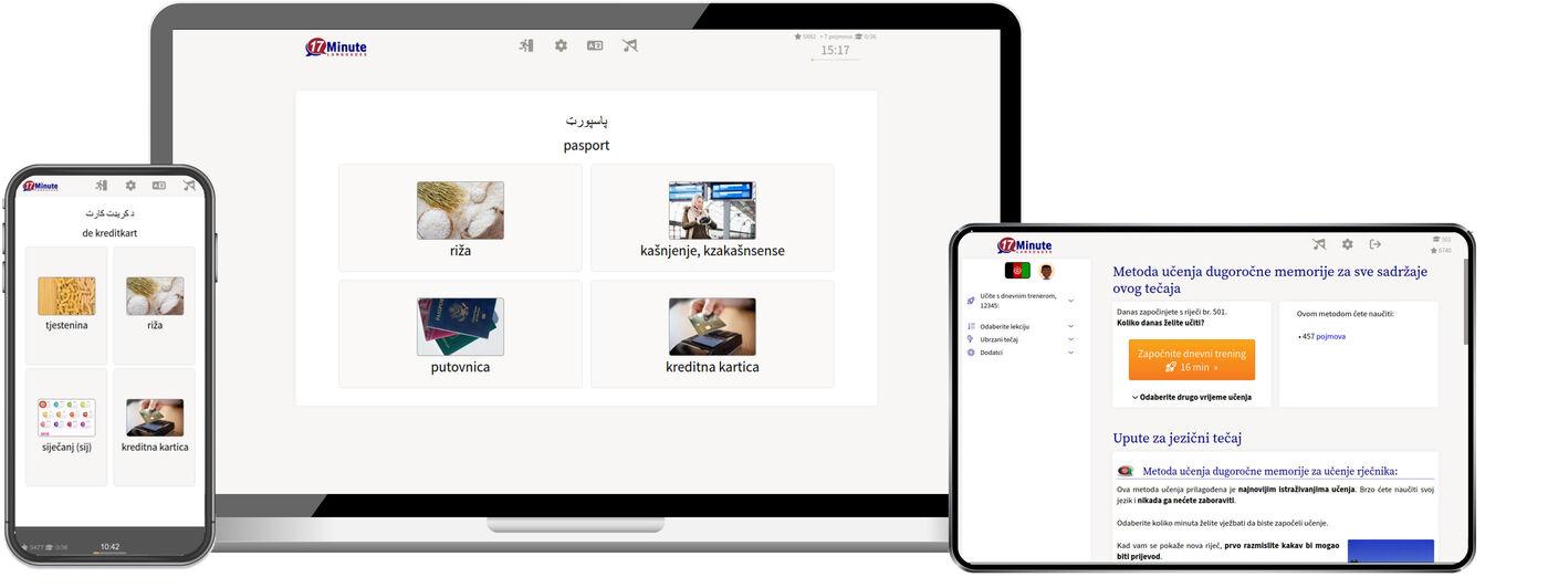 Učenje paštunskog jezika online
