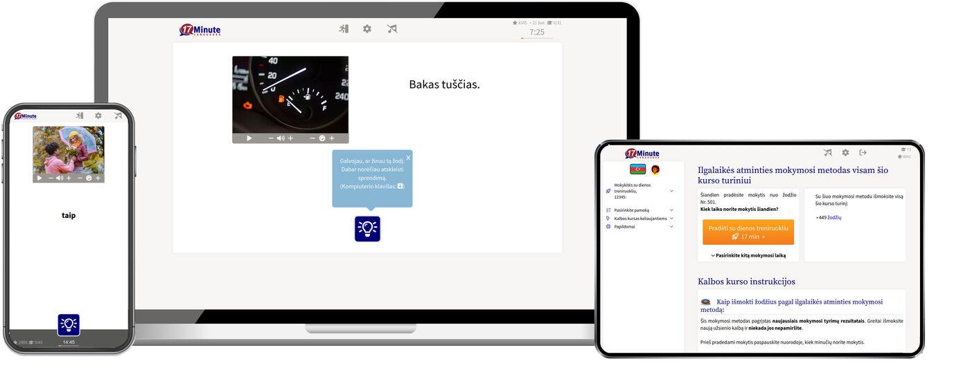 Mokytis azerbaidžaniečių internetu