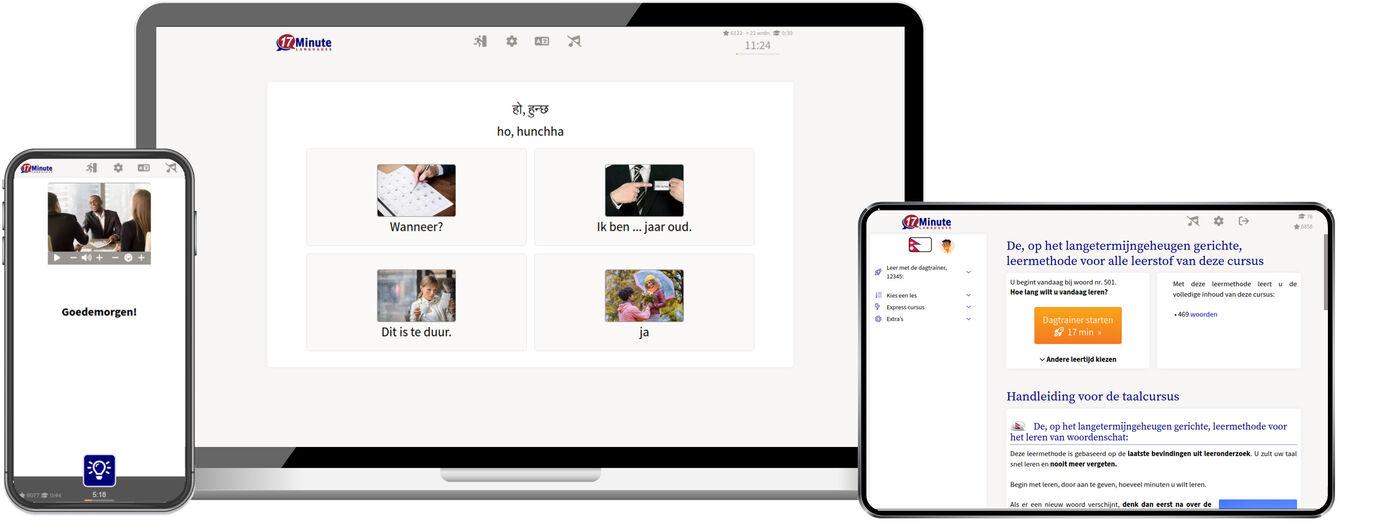 nepalees snelcursus