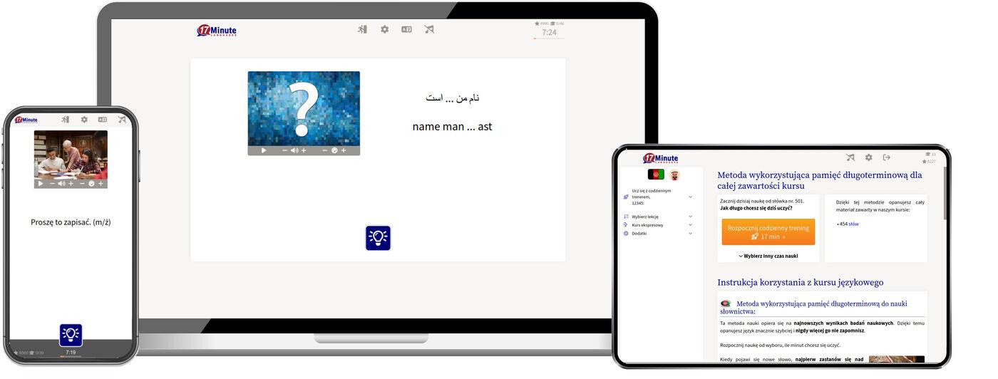 Nauka języka dari online