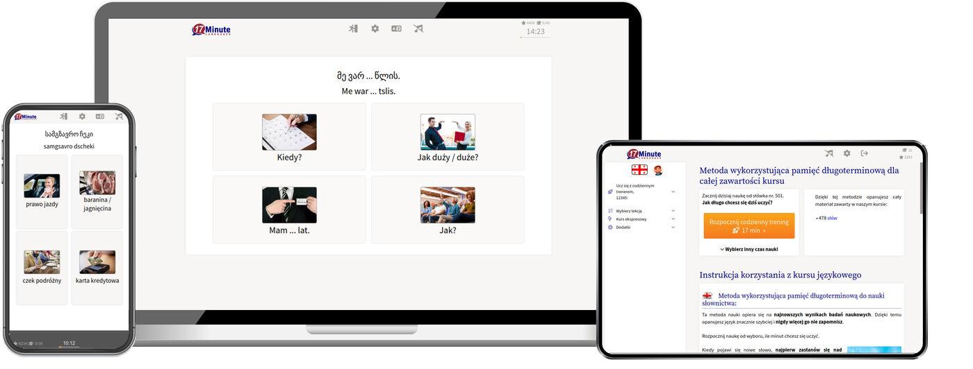 Nauka języka gruzińskiego online