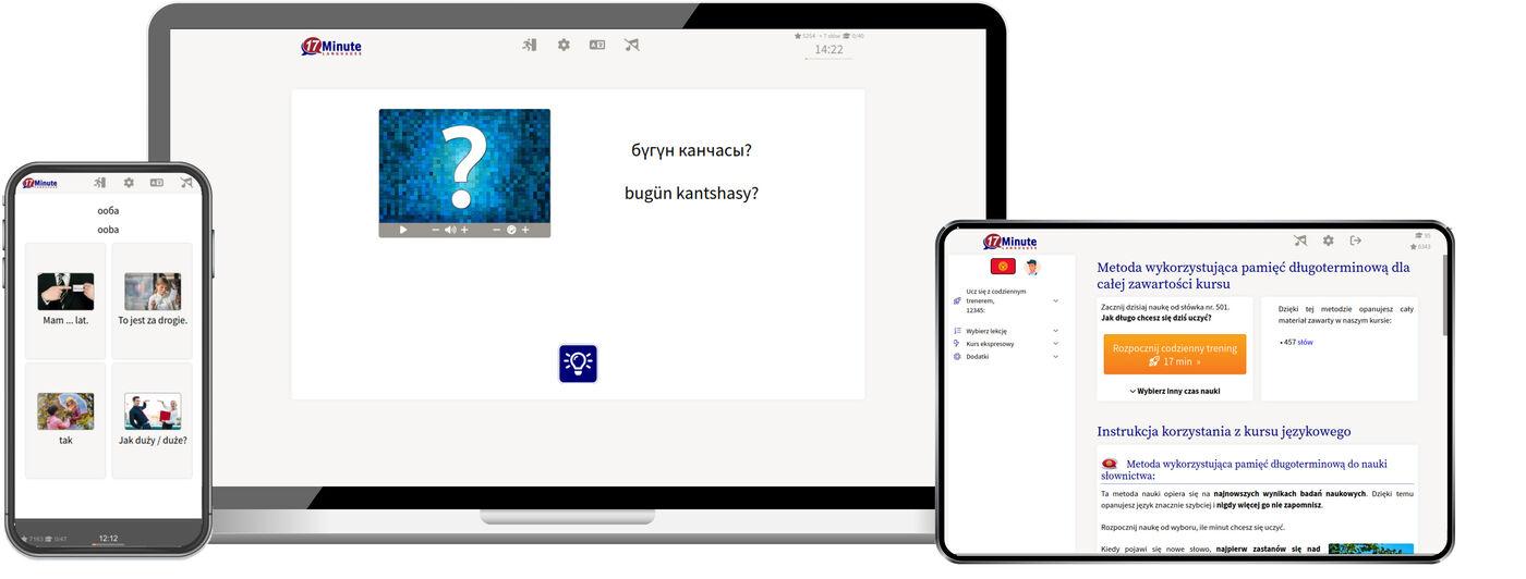 Nauka języka kirgiskiego online