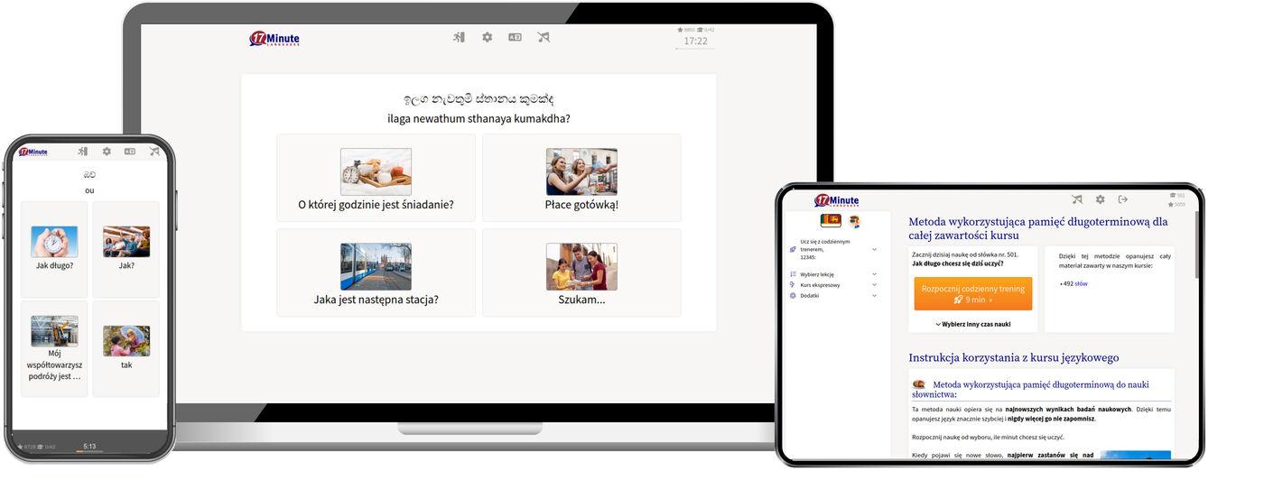 Nauka języka syngaleskiego online