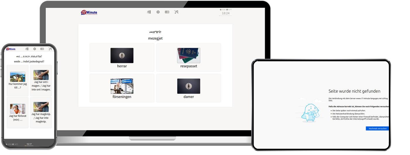 Lär dig amhariska online