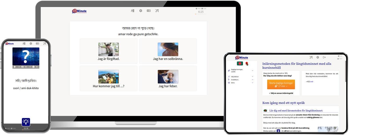 Lär dig bengali online