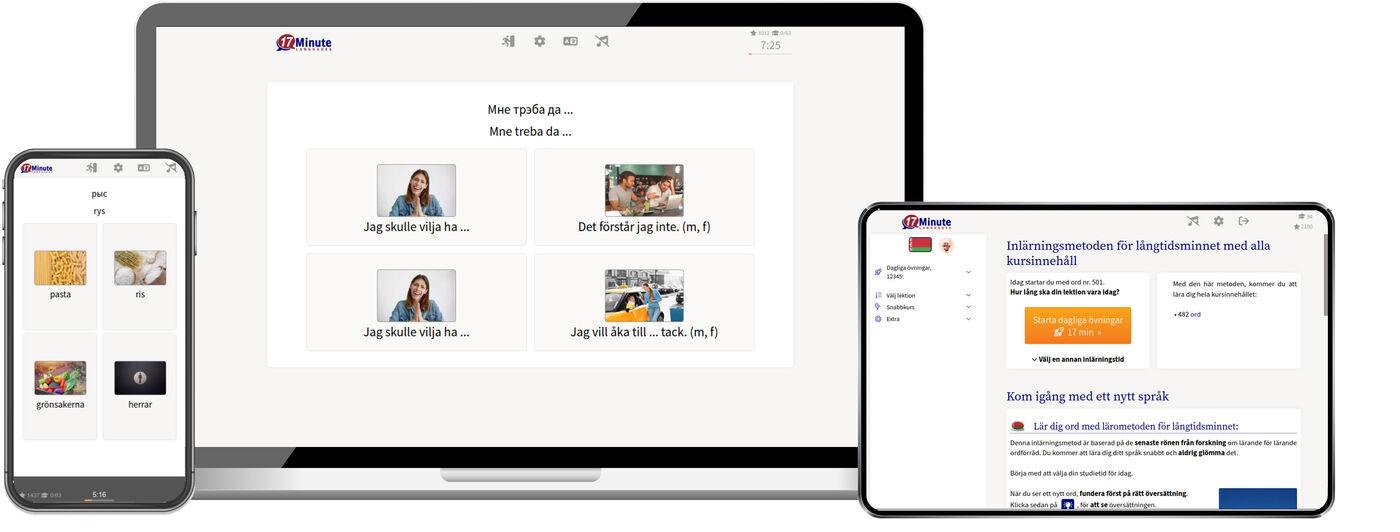 Lär dig vitryska online