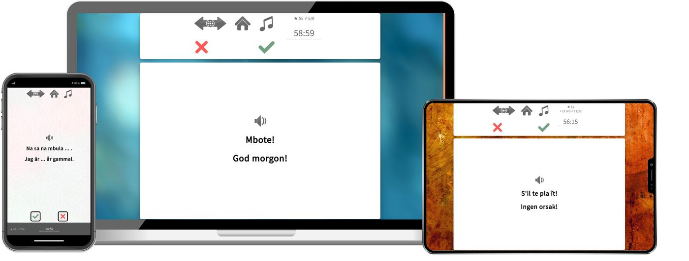 Lär dig lingala online