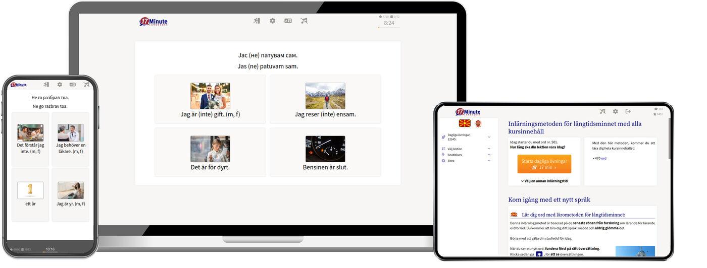 Lär dig makedonska online